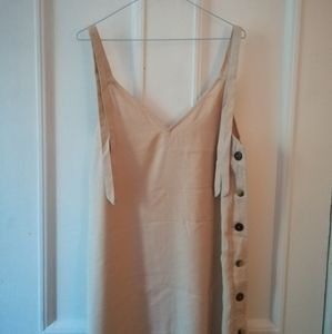 Topshop dress with shoulder ties